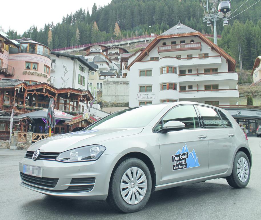 Volkswagen präsentiert den neuen Golf im Wintersportgebiet Ischgl