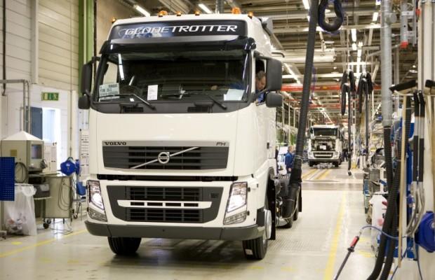 Volvo bremst Lkw-Produktion