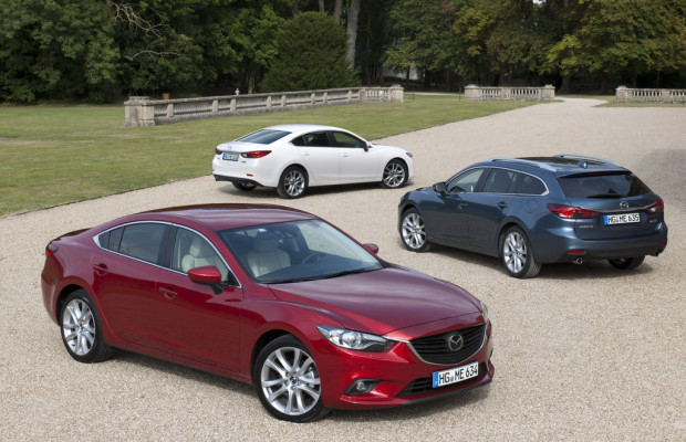 Vorverkauf für den neuen Mazda6 angelaufen