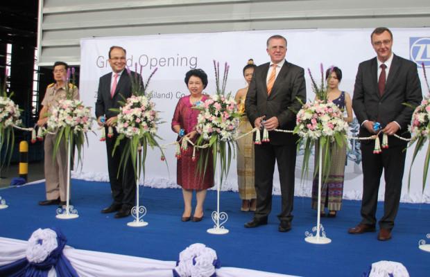 ZF eröffnet neues Werk in Thailand