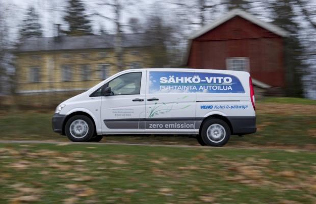 Zwölf Mercedes-Benz Vito E-Cell für Finnland