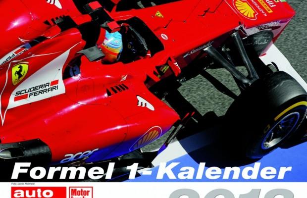 auto.de-Weihnachtsgewinnspiel: Formel 1-Kalender 2013 und Buch
