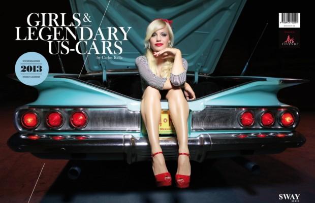 auto.de-Weihnachtsgewinnspiel: GIRLS & LEGENDARY US-CARS 2013