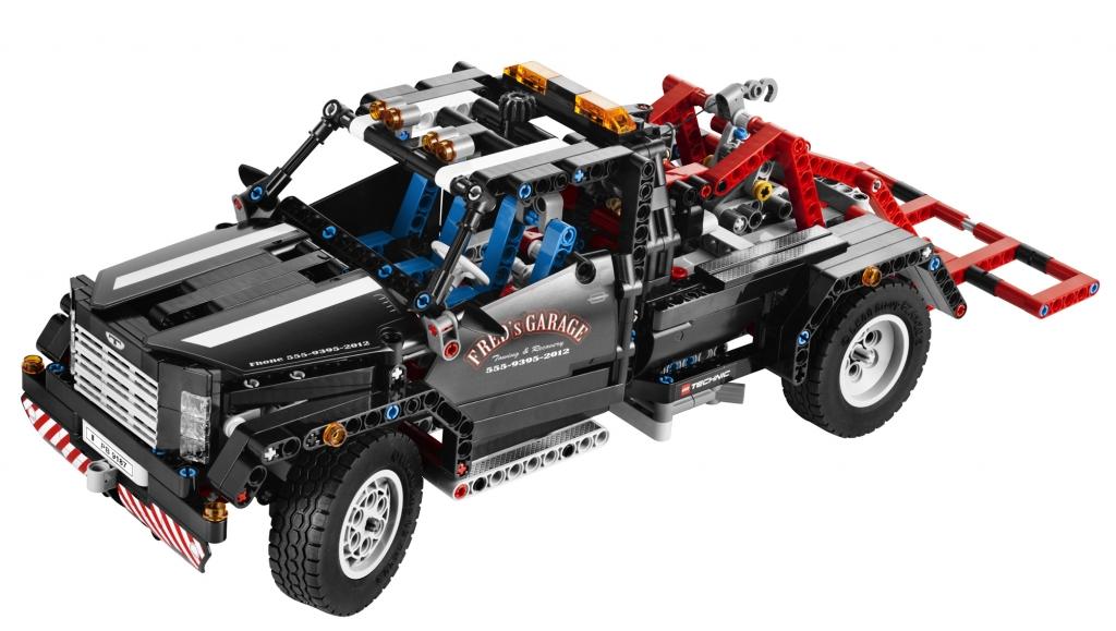 auto.de-Weihnachtsgewinnspiel: LEGO Technic – der Fuhrpark fürs Grobe