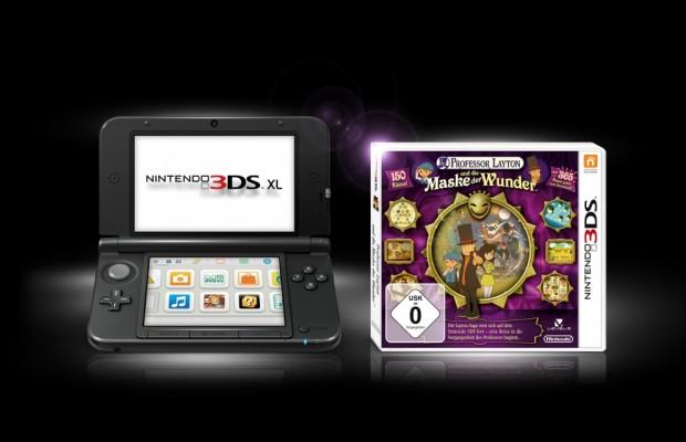 auto.de-Weihnachtsgewinnspiel: Professor Layton und die Maske der Wunder plus Nintendo 3DS XL