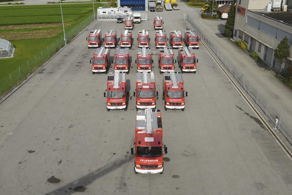 18 Mercedes-Benz Vario für Schweizer Feuerwehren