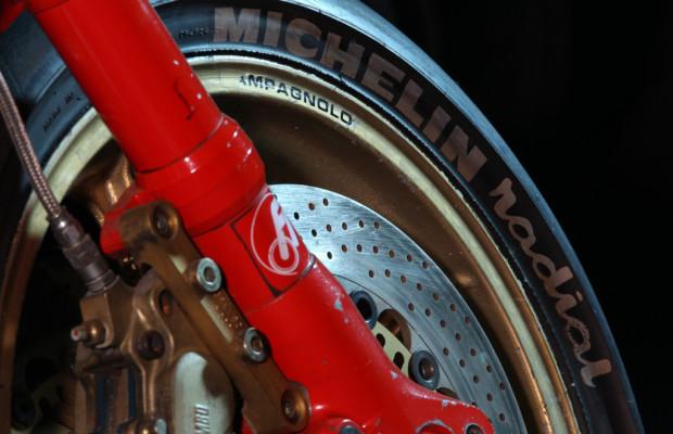 25 Jahre Michelin-Radialreifen für Motorräder