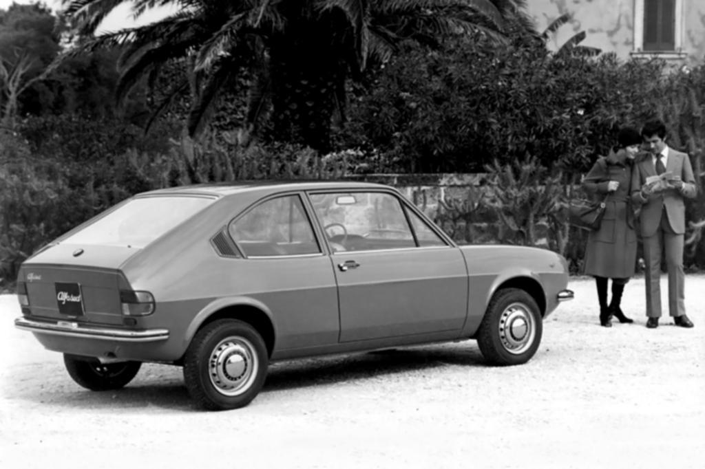 Alfa Romeo Alfasud, zweitüriger Prototyp 1971
