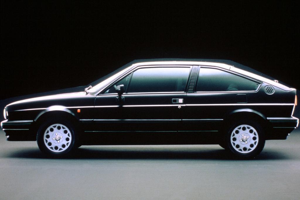 Alfa Romeo Sprint Quadrifoglio Verde 1987