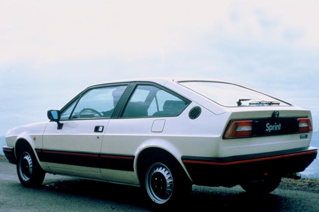 Alfa Romeo Sprint Quadrifoglio Verde ab 1983