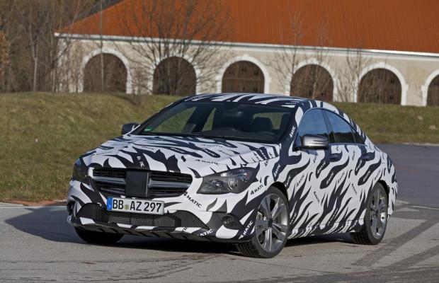 Allradantrieb auch für die kompakten Mercedes-Benz-Modelle