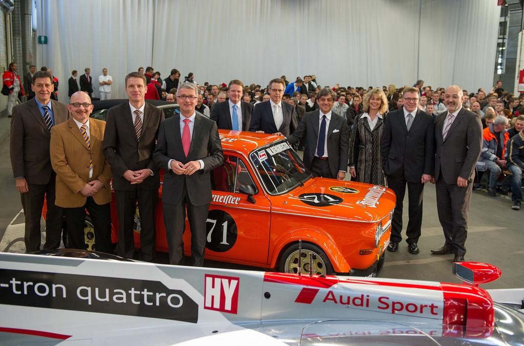 Audi-Betriebsrat begrüßt Investitionen am Standort Neckarsulm