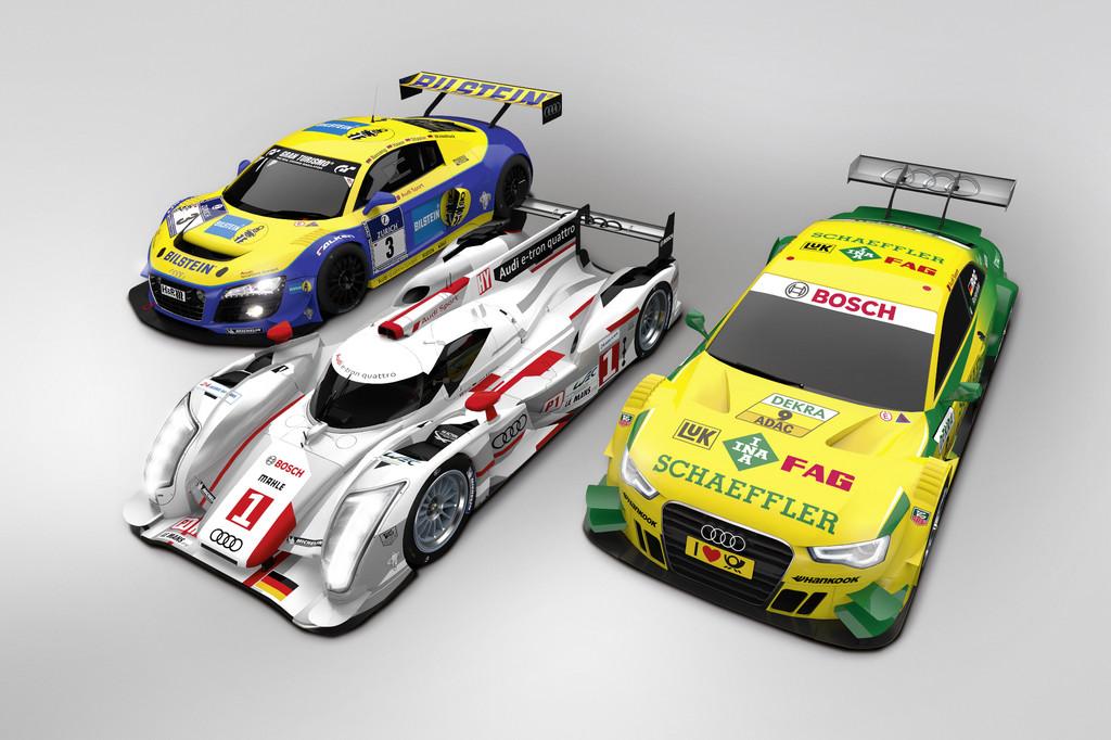 Audi gibt im Motorsport weiter Vollgas