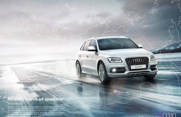 Audi zeigt, wo Allrad zu Hause ist