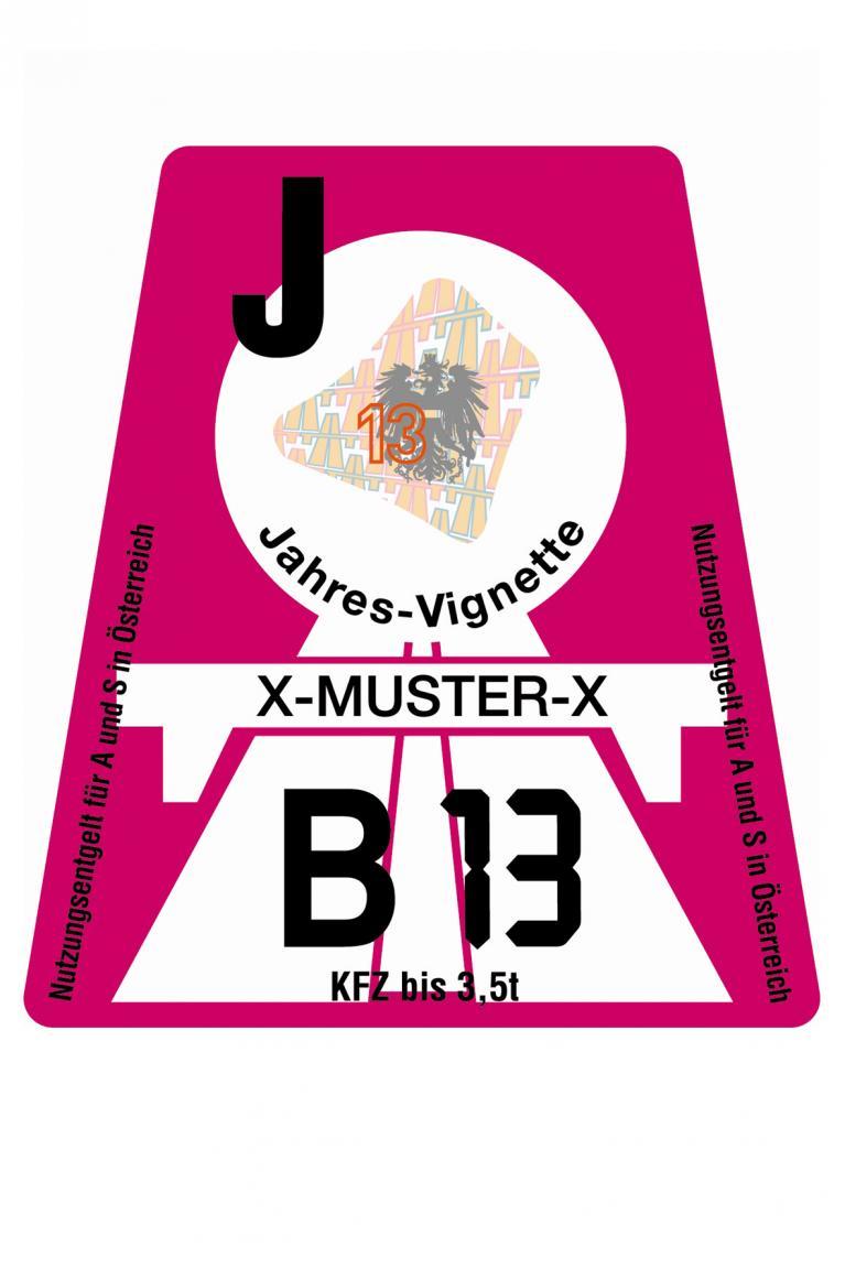 Autobahn-Vignette für Österreich: Harte Strafen für Mautpreller