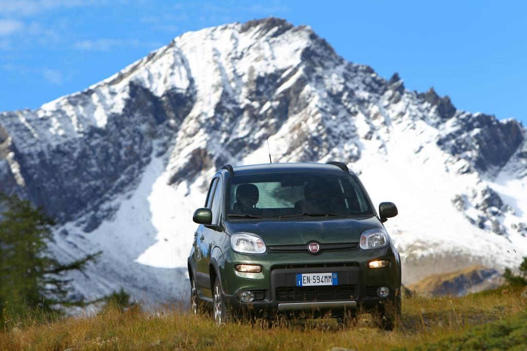 Autoneuvorstellung Fiat Panda 4x4 - Seine Welt sind die Berge