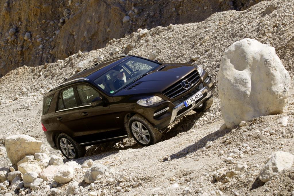 Bei den großen SUV liegt der ML 250 BlueTec vorne.