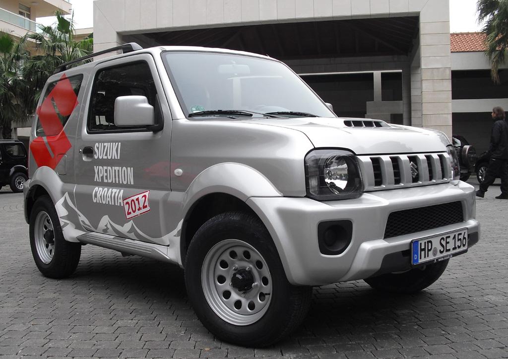 Bei der Suzuki Xpedition in Kroatien: Aufgefrischter Jimney ...