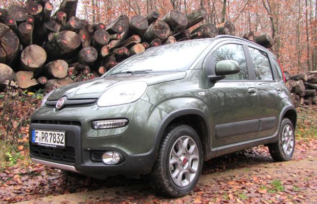 Bereit für neue Abenteuer: Fiat Panda mit Allrad-, Trekking- und mit Erdgasversion