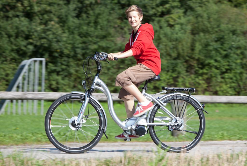 Bis 25 km/h gilt ein E-Bike als Fahrrad