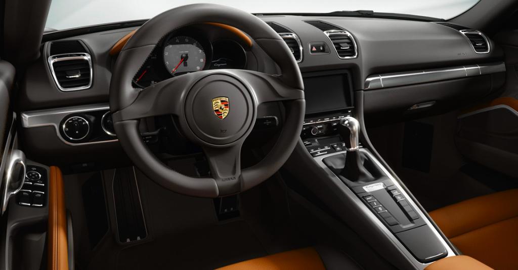 Blick ins Cockpit des zweisitzigen Sportcoupés.