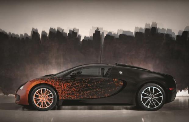 Bugatti Gran Sport Venet - Starke Kunst