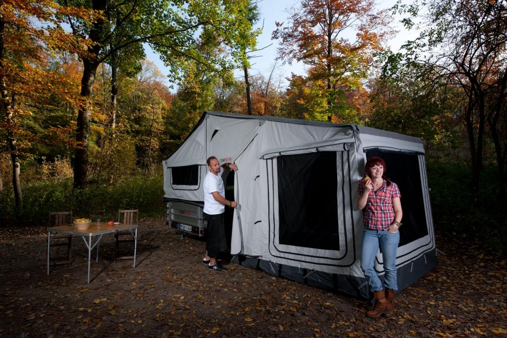 CMT 2013 Stuttgart: Campwerk stellt neue Offroad-Anhänger-Baureihe vor