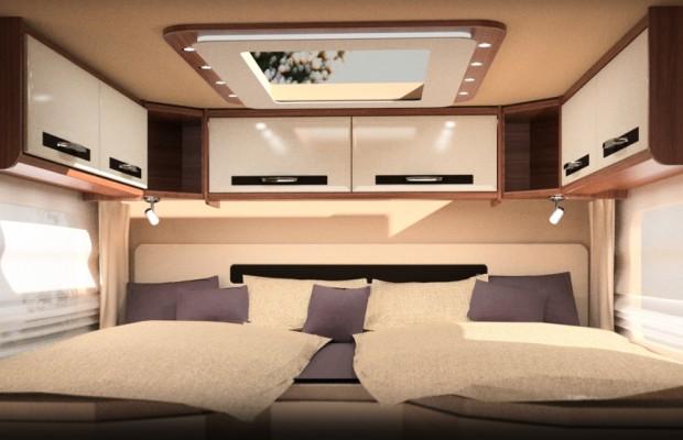 CMT 2013 Stuttgart: Morelo stellt Palace Alkoven und neue Modellreihe Loft vor