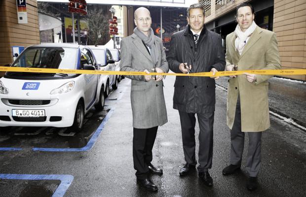 Car2go bringt Elektrofahrzeuge nach Berlin