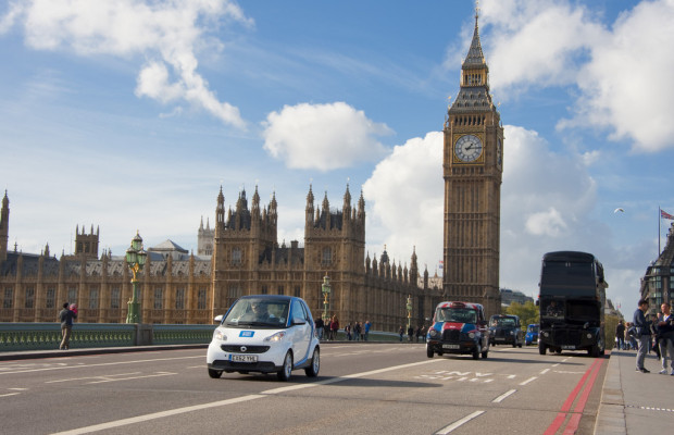 Car2go jetzt auch in London