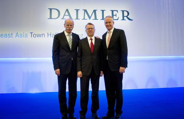 Daimler schafft integrierte Pkw-Vetriebsgesellschaft in China