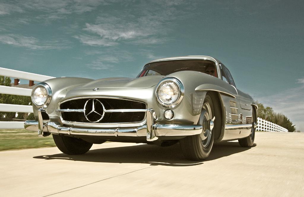 Das ist der andere Hammer: Clark Gables Flügeltüren-Coupé Mercedes 300 SL.