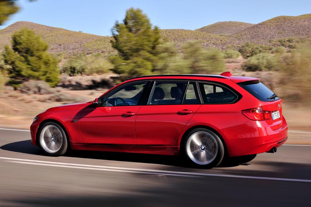 Der BMW 3er Touring überzeugt in der Mittelklasse