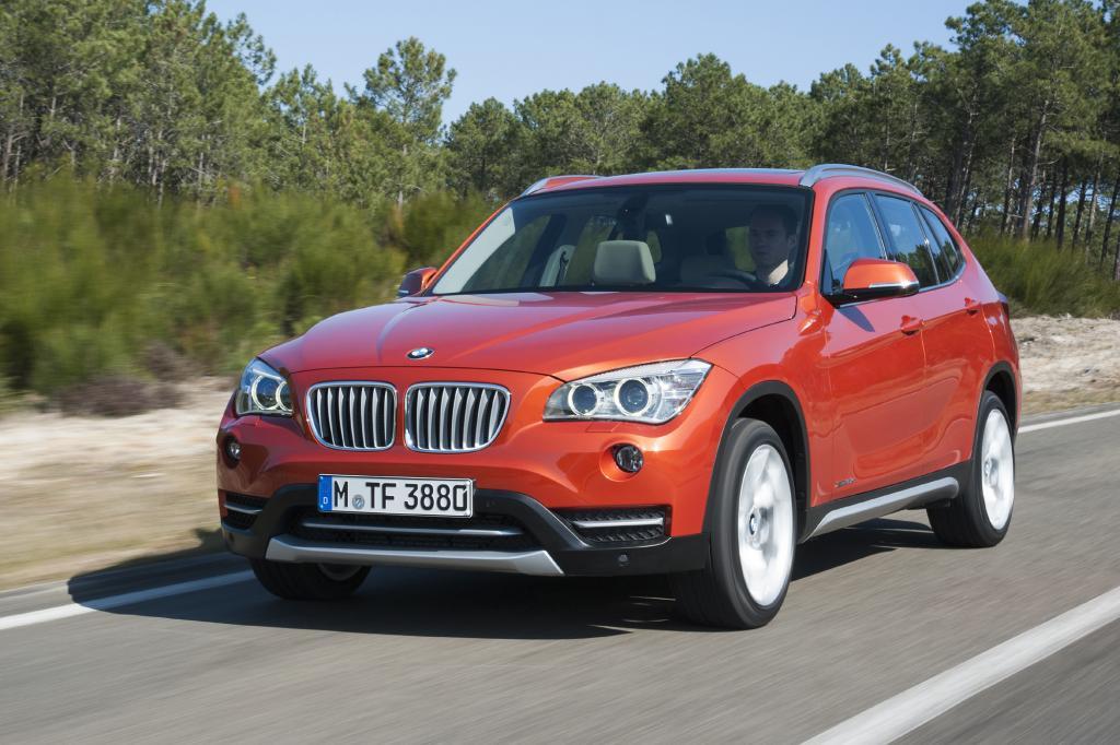 Der BMW X1 ist Wertmeister 2013
