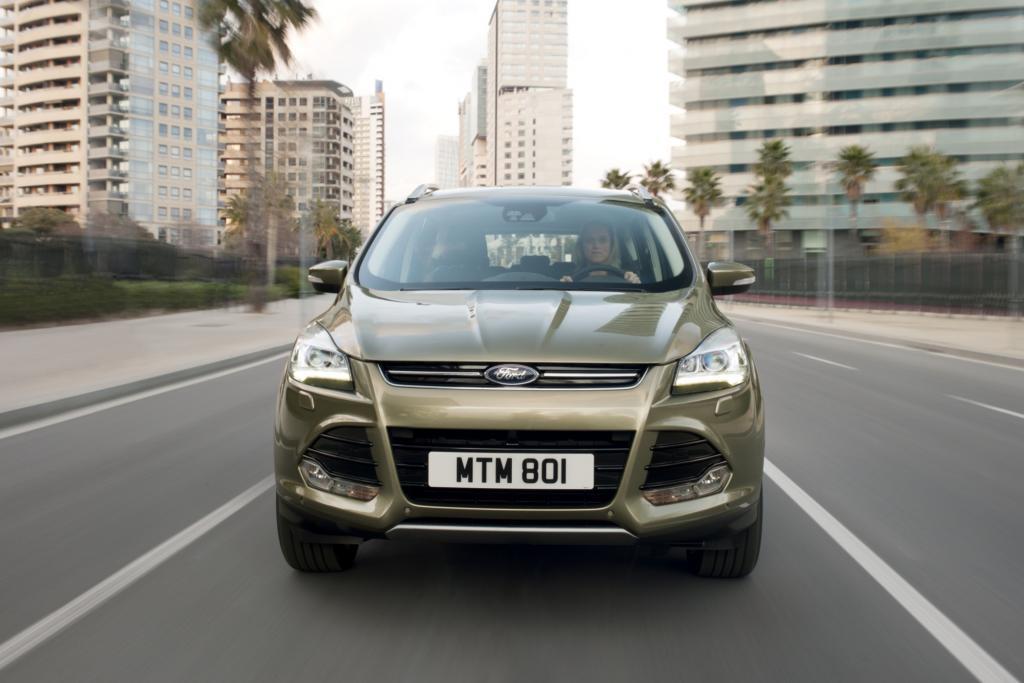 Der Ford Kuga tritt ab März gegen VW Tiguan und Co. an