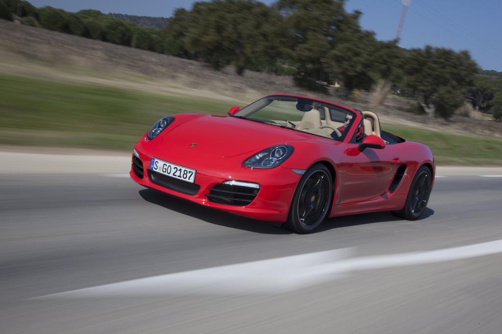 Der Porsche Boxster punktet bei den Sportwagen