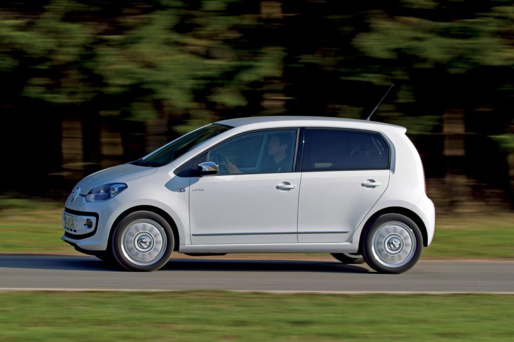 Der VW Up ist wertstabilster Kleinstwagen