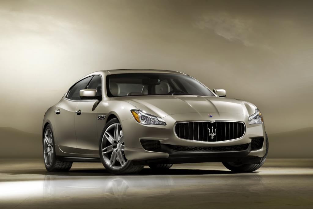 Der neue Maserati Quattroporte kommt 2013
