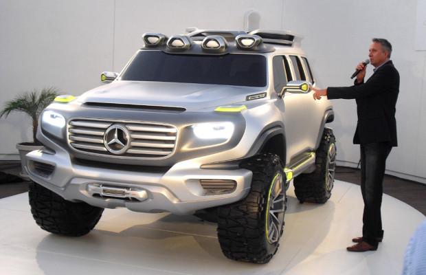 Ener-G-Force könnte auf neue Offroad- Formensprache bei Mercedes hindeuten
