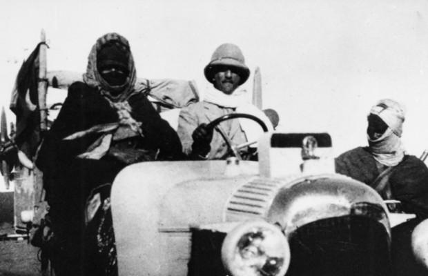 Erste Sahara-Durchquerung mit Citroën Halbkettenfahrzeugen vor 90 Jahren