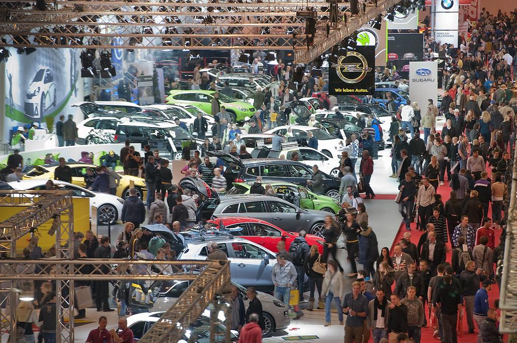 Essen 2012: 112 000 Besucher zum Auftakt