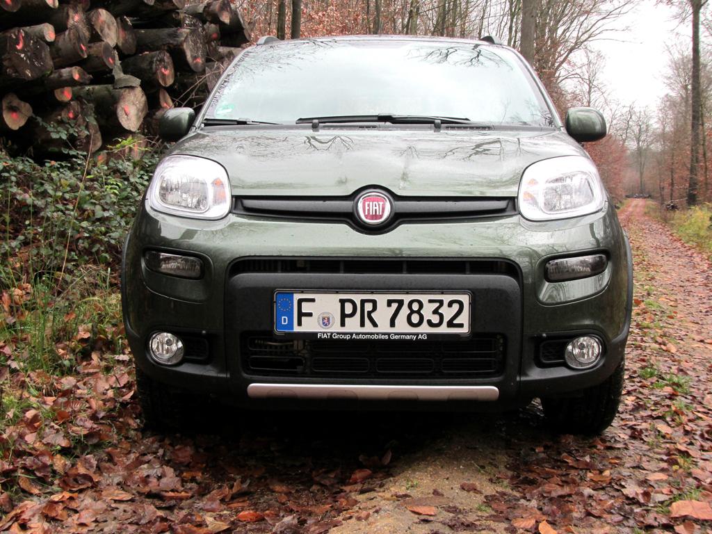 Fiat Panda 4x4: Blick auf die Frontpartie.