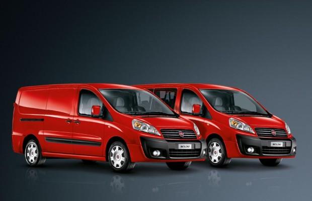 Fiat Scudo Multicab - Mit sechs Mann auf Montage