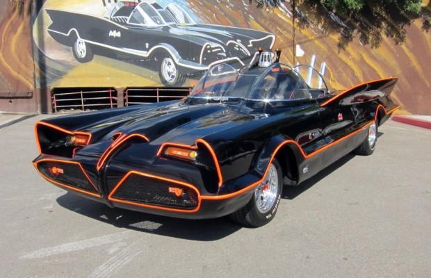 Ikone unterm Hammer: Batmobil wird versteigert
