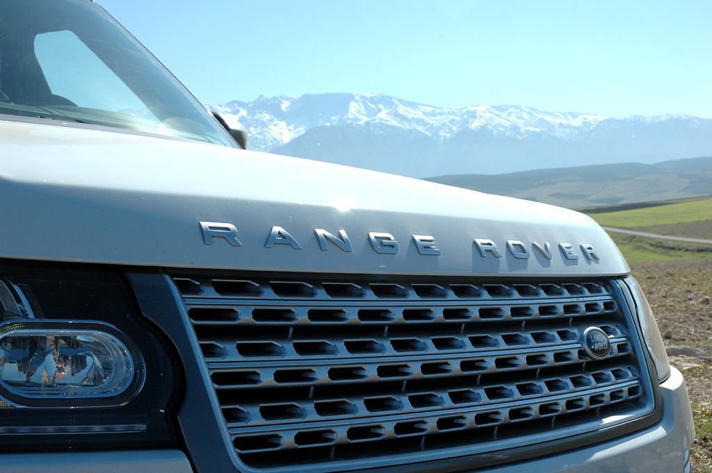 Im Mittelpunkt von Land Rovers Marokko-Experience stand diesmal der neue Range Rover.