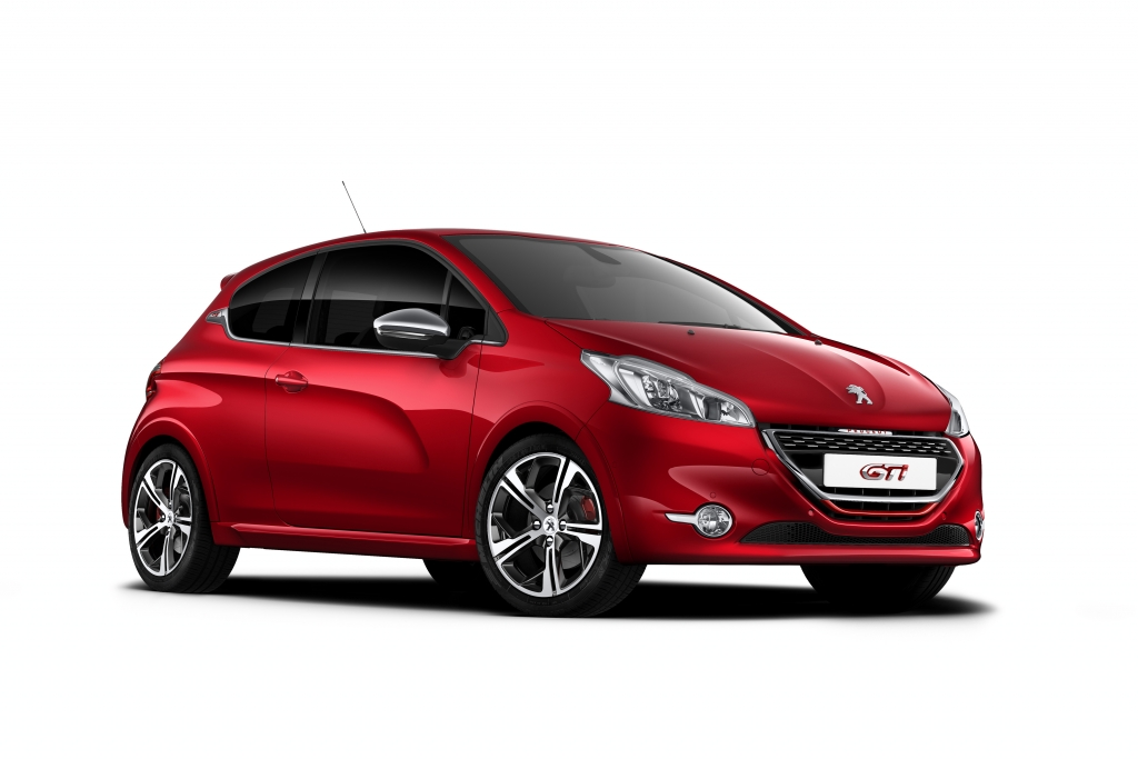 Im Peugeot 208 GTi leistet der 1.6-Liter Turbobenziner 200 PS
