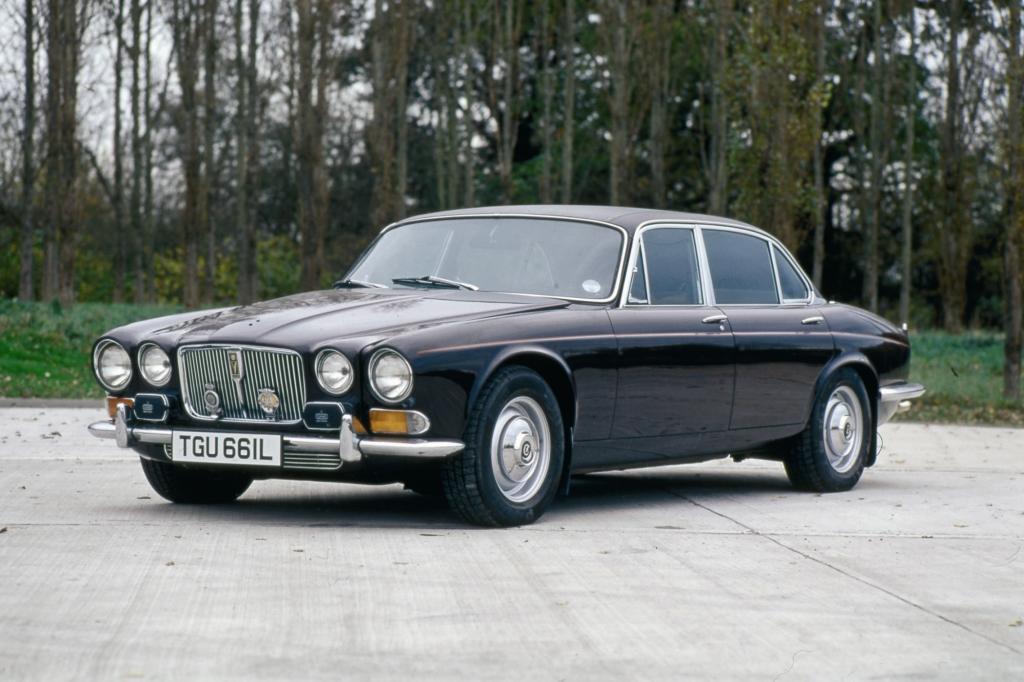 Jaguar XJ 12 der Queen Mother ab 1972