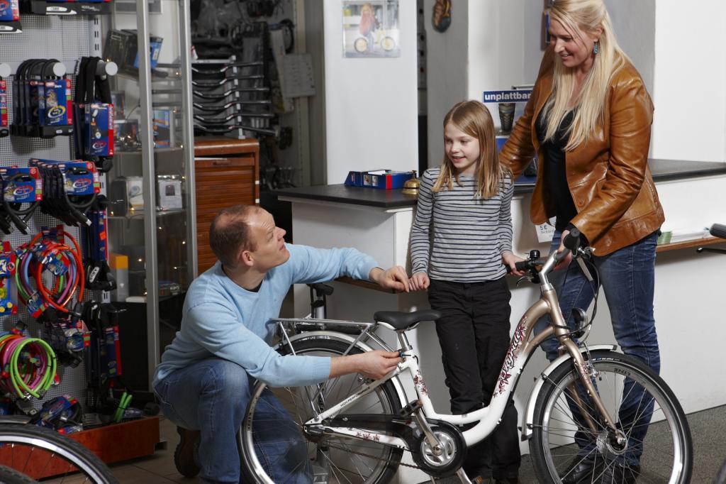 Kinderfahrräder - Auf die Größe kommt es an