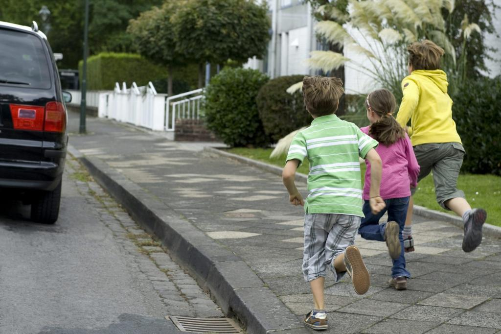 Kinderunfälle im Straßenverkehr - Nord-Süd-Gefälle