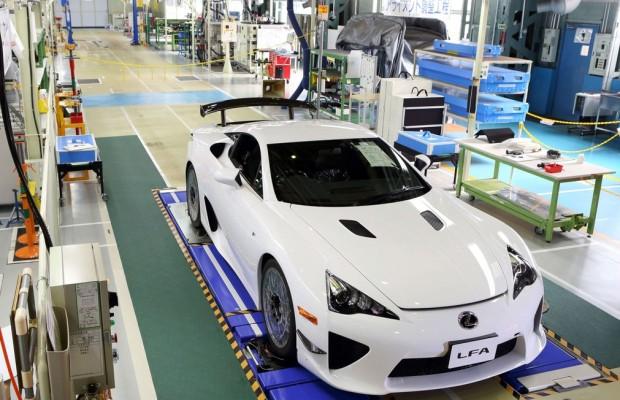 Letzter Lexus LFA hat die Werkshallen verlassen